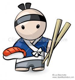 Chopsticks clipart japanese