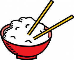 Chinese Food clipart rice bowl