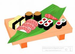 Chinese Food clipart sushi