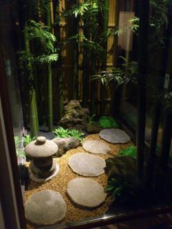 Japanese Garden clipart working man