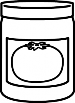 Sause clipart black and white