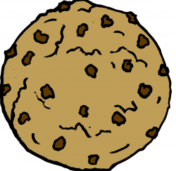 Jar clipart chocolate chip cookie