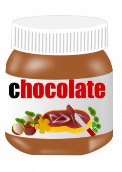 Jar clipart chocolate spread