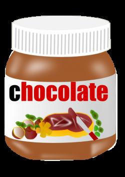 Jar clipart chocolate spread
