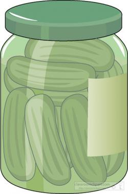 Container clipart pickle jar