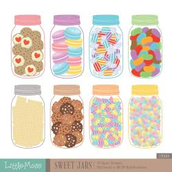 Sweets clipart jar