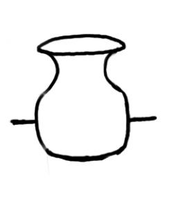 Vase clipart empty vase