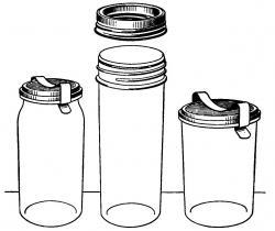 Jar clipart food storage