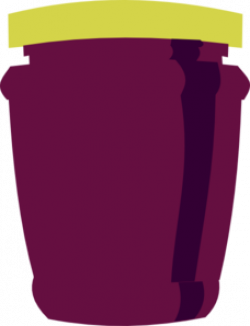 Jellie clipart grape jelly