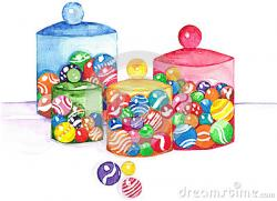 Marbles clipart jar marble