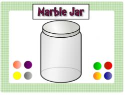 Jar clipart jar marble