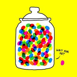Jelly Beans clipart guess number
