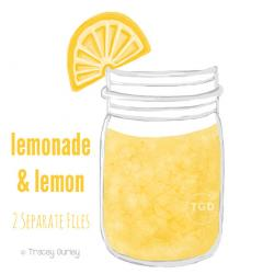 Jar clipart lemonade