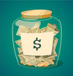 Jar clipart money jar