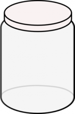 Jar clipart outline