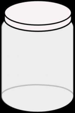 Jar clipart outline