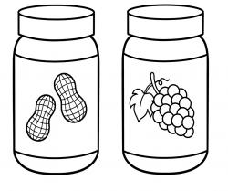 Jellie clipart coloring