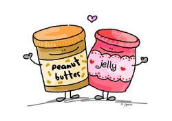 Jellie clipart peanut butter