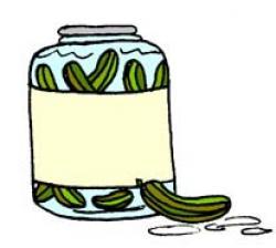 Pickles clipart pickle jar