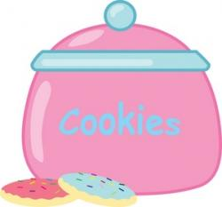 Jar clipart pink cookie