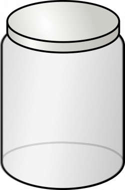 Jar clipart plastic container