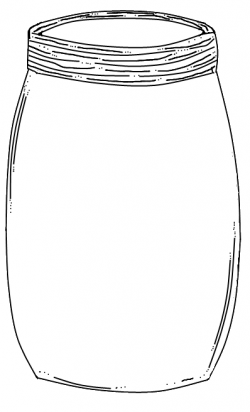 Drawn mason jar printable