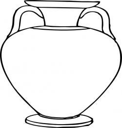 Vase clipart plain