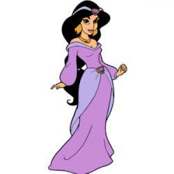 Jasmine clipart cartoon