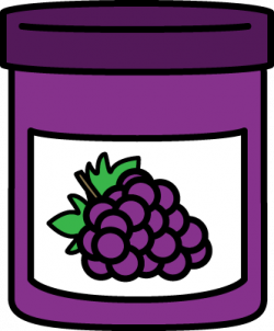 Jam clipart grape jelly