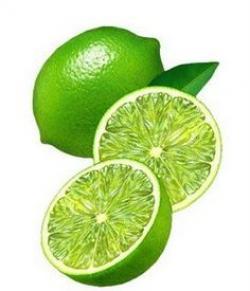 Lime clipart half lime