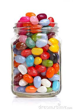 Beans clipart jelly bean jar