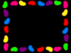Jelly Bean clipart background