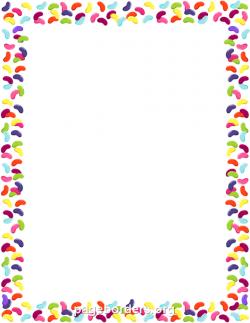 Jelly Bean clipart border