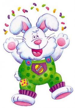 Jelly Bean clipart easter bunny