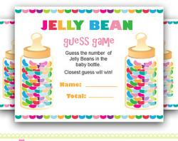 Jelly Bean clipart guess number