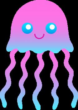 Dolphin clipart jellyfish