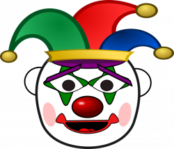 Clown clipart jester