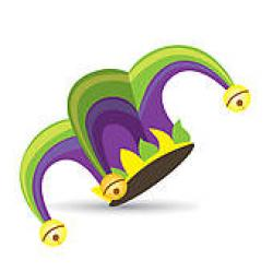 Jester clipart funny hat