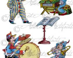 Jester clipart theater