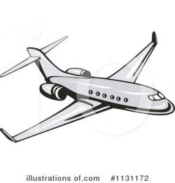 Jet clipart airline