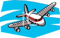 Jet clipart airplane flying