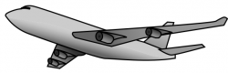 Jet clipart animated