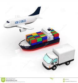 Jet clipart cargo plane