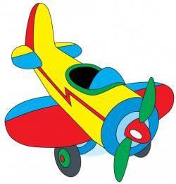 Pilot clipart toy plane