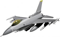 Jet clipart f 16