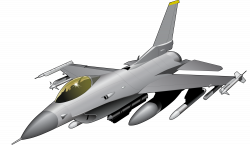 Jet Fighter clipart f16