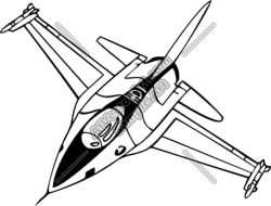 Jet clipart fighter jet
