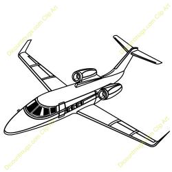 Jet clipart private