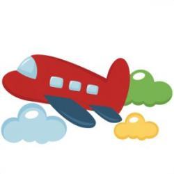 Miniature clipart plane