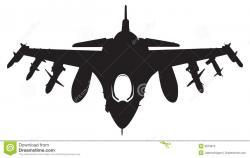Jet Fighter clipart bomber
